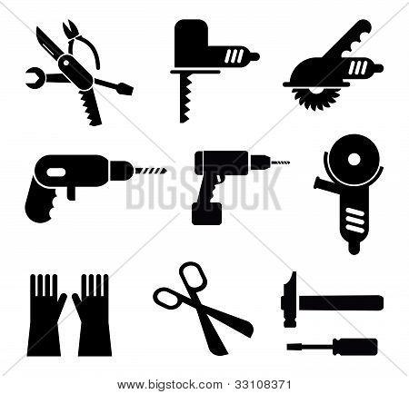 Tools Icon Set