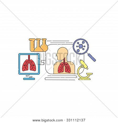 Lungs. Lungs Vector. Lungs icon Vector. Lungs symbol. Lungs medical care design. Lungs illustrations. Lungs banner. Medical Lungs. Lungs Vector Background. Lungs Medical Pulmonary. Tuberculosis, Pneumonia, Asthma vector.