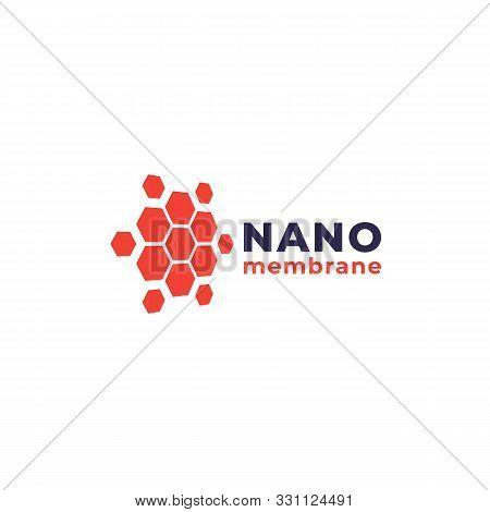 Nano Materials Vector Logo, Eps 10 File, Easy To Edit