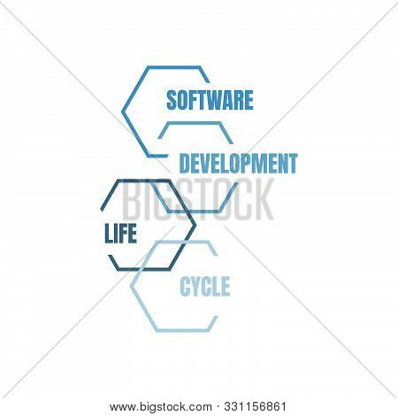 Software Development Life Cycle Vector Design Illustration