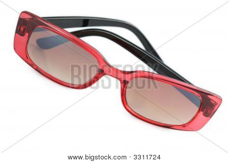 Red And Black Sunglasses