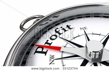 Profit Concept Compass
