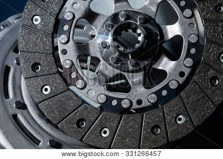 Top View Of Brake Rotor, Brake Rotors Are An Important Component In The Braking System That Stops Yo