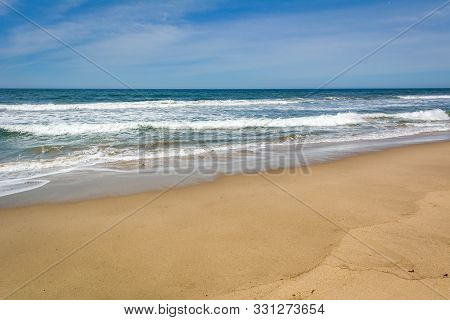 Zuma Beach, One Of The Most Popular Beaches In Los Angeles County In California. Zuma Is Known For I