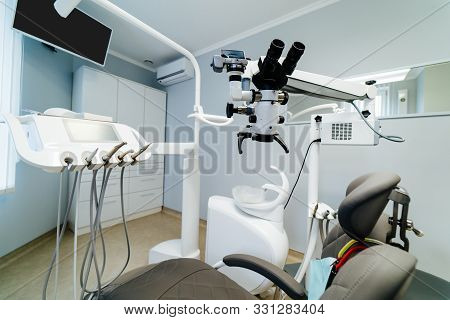 Brand New Medical Office. Dentist Room. Stomatologist Professional Equipment. Hi Tech Medical Clinic