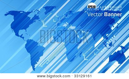 Map background. This illustration is an EPS10 file and contains several transparencies blend with its easily editable in separate layers. Vector illustration scale to any size.