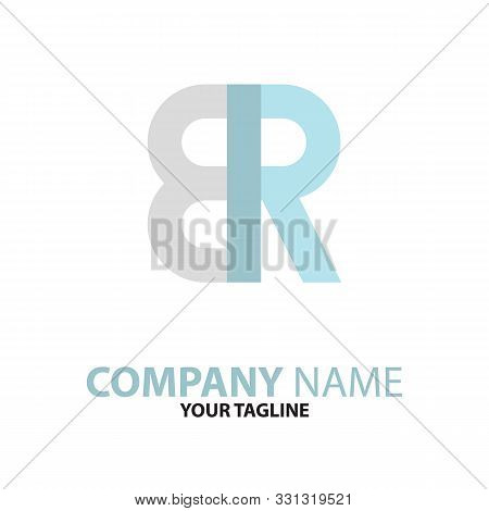Rb Br Initial Logo Concept Can Be Used For Companies And Businesses