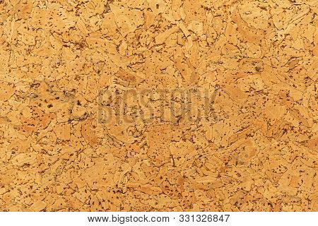 Close-up Of Cork Sound Insulation Material For Floors And Walls