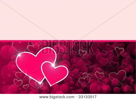 gift card with hearts