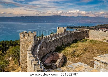 The Fortress Of Tsar Samuel - Ohrid, Macedonia, Europe