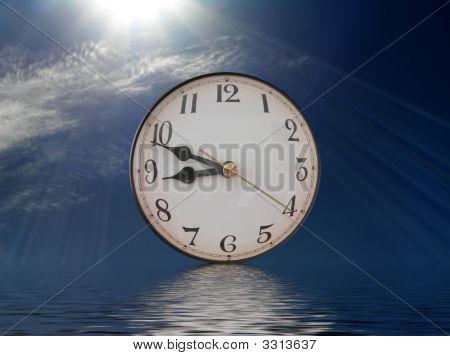 Zeitpunkt der Reflektion
