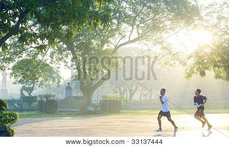 Running In Rizal Park