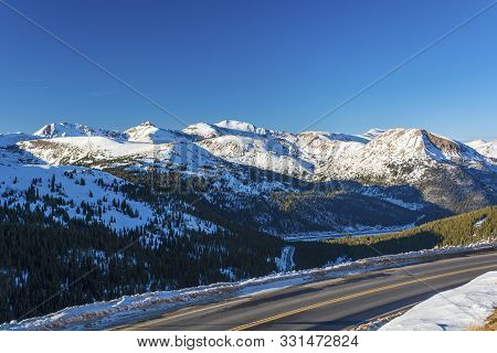 Loveland Pass And Hagar Mountain, Mount Trelease, The Citadel, Pettingell Peak, Mount Bethel, And Va