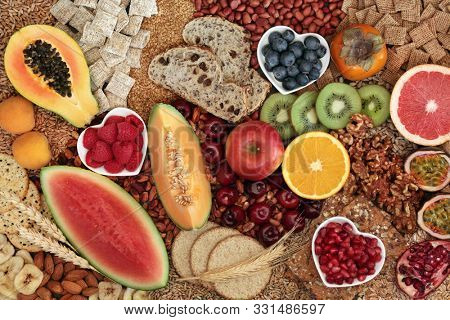 Healthy high fibre food with super foods high in antioxidants, omega 3, vitamins & protein with low GI levels for diabetics. Helps to lower blood pressure & cholesterol & optimise a healthy heart.