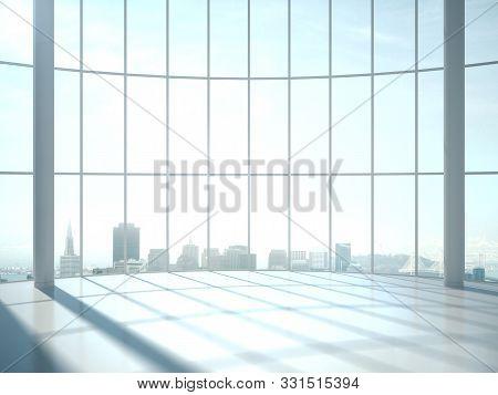 Contemporary Sunlight Hall Office