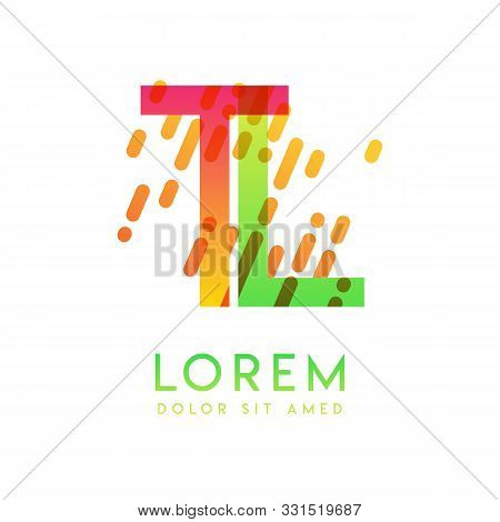 Tl Logo With The Theme Of Galaxy Speed And Style That Is Suitable For Creative And Business Industri