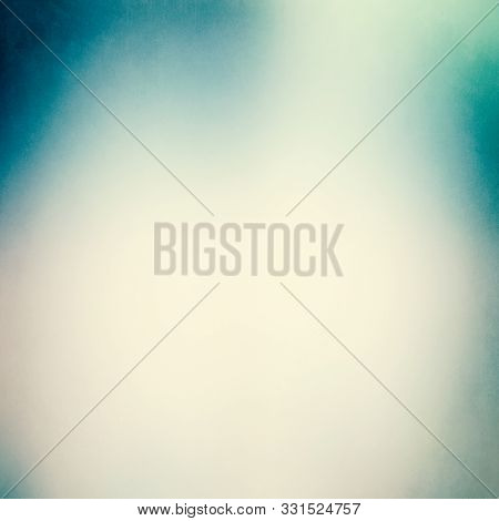 Abstract Luxury Blue Background, Old Blue Gradient Vignette Border Frame White Gray Background, Vint