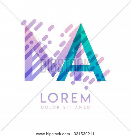 Ma Logo With The Theme Of Galaxy Speed And Style That Is Suitable For Creative And Business Industri