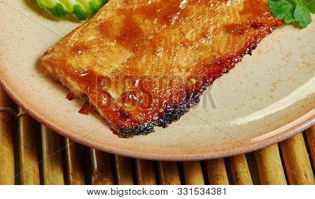 Cajun Brown Sugar Salmon