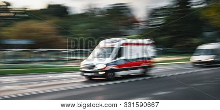 Ambulance On Emergency Call