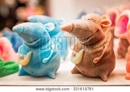 Rat Beautiful Soap In A Shop Window
