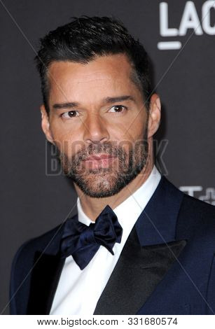 Ricky Martin at the 2019 LACMA Art + Film Gala Presented By Gucci held at the LACMA in Los Angeles, USA on November 2, 2019.