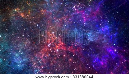 Planets And Galaxy, Science Fiction Wallpaper. Astronomy Is The Scientific Study Of The Universe Sta