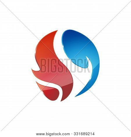 Heating And Cooling Logos