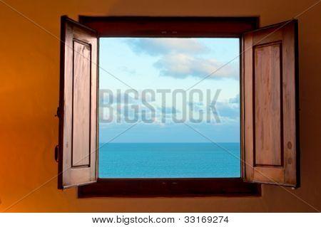 Dreamy bedroom caribbean view
