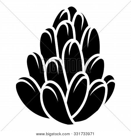 Succulent Plant Icon. Simple Illustration Of Succulent Plant Vector Icon For Web Design Isolated On