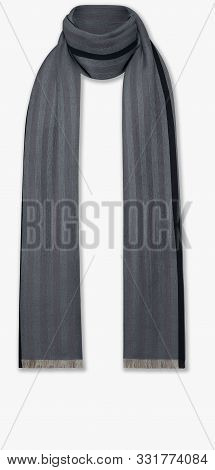 Dark Color Scarf New Look With White Background