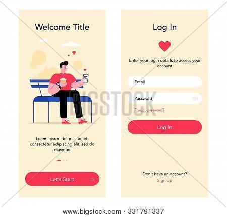 Dating-app-start-screens