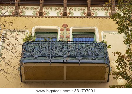 Sightseeing Tour Of Oradea, Romania, 26-octomber 2019. Old Buildings With 18Th Century Architecture