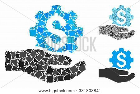 Engineering Service Price Composition Of Abrupt Items In Different Sizes And Color Tones, Based On E