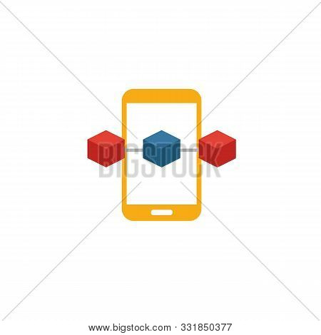 Blockchain App Icon. Simple Element From Blockchain Icons Collection. Creative Blockchain App Icon U