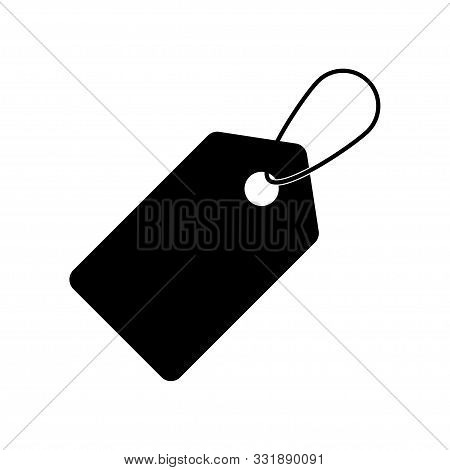 Price Tag Icon Isolated On White Background. Vector Tag Symbol. Flat Simple Vector Icon. Coupon Vect