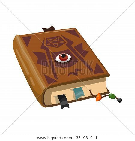 Vector Design Of Book And Manuscript Sign. Web Element Of Book And Textbook Stock Vector Illustratio
