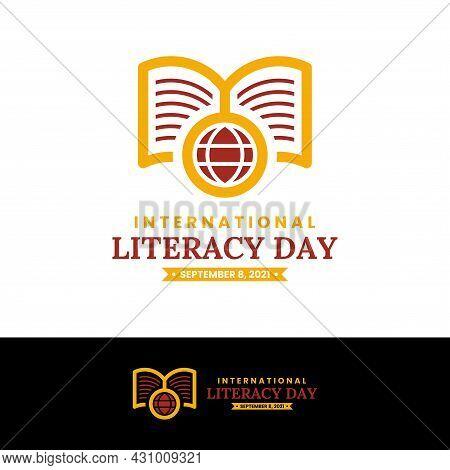 International Literacy Day Logo Design Template