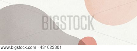 Abstract simple Memphis email header