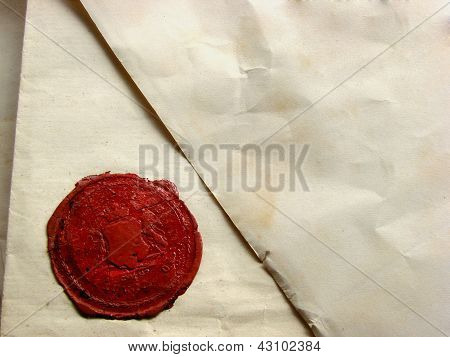 Letter With Seal