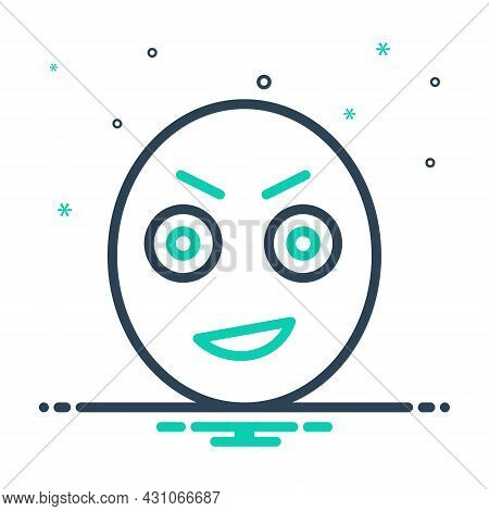 Mix Icon For Stare Gaze Ogle Gloat Look-fixedly Look Observe Emoji
