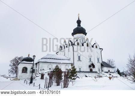 Cathedral Of Assumption Of Blessed Virgin Mary In Uspensky (assumption) Monastery. Built In 1561. Bu