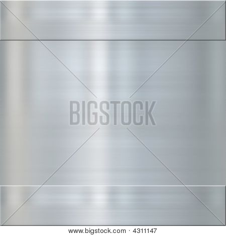 Fine Brushed Steel Metal