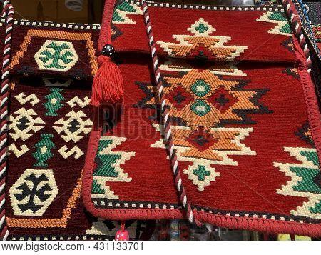 Albanian Souvenirs - Traditional Hand Made Bags. Travel Destinations.