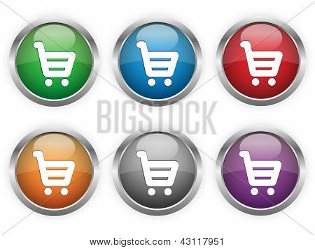 Shopping web buttons
