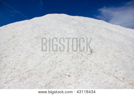 Salt crystals hill