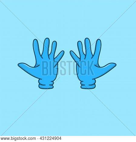 1 Pink Hand Gloves