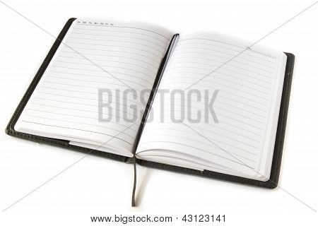 Note Book Open
