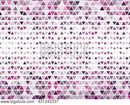 Minimal Triangles Halftone Pattern. Fade Triangular Structure Banner Backdrop. Pixel Triangles Halft