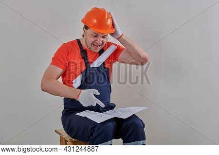 Foreman Shocked By The Drawings Of The Apartment